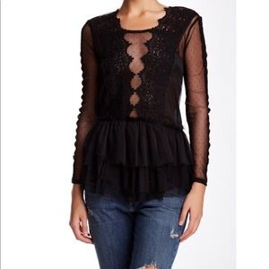Free people midnight memories blouse